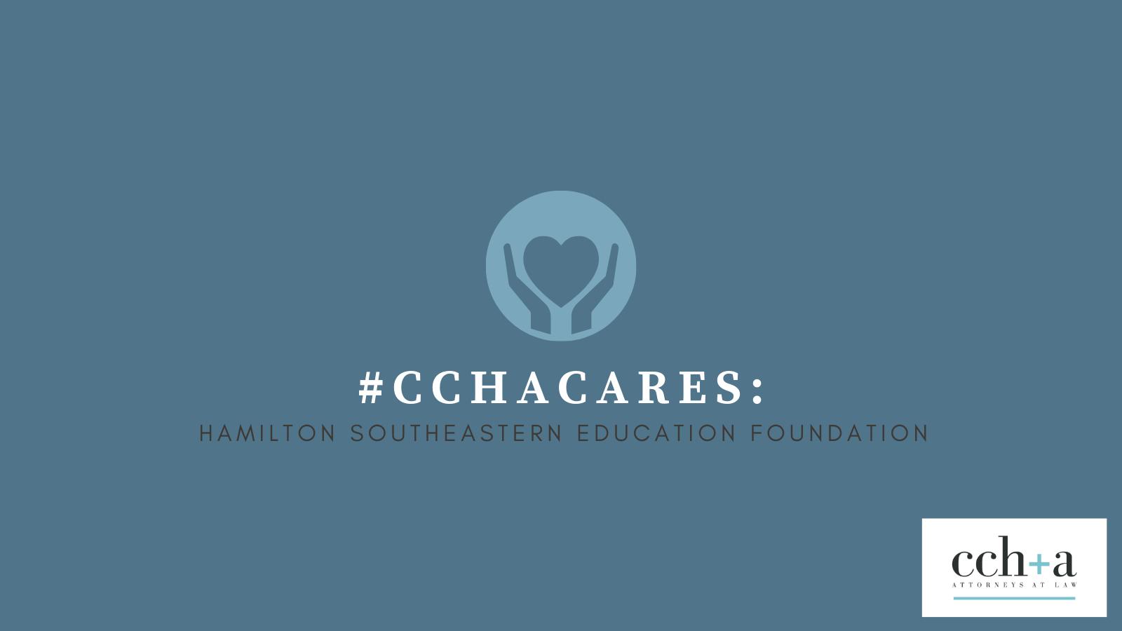 CCHA Cares Hamilton Southeastern Education Foundation Twitter