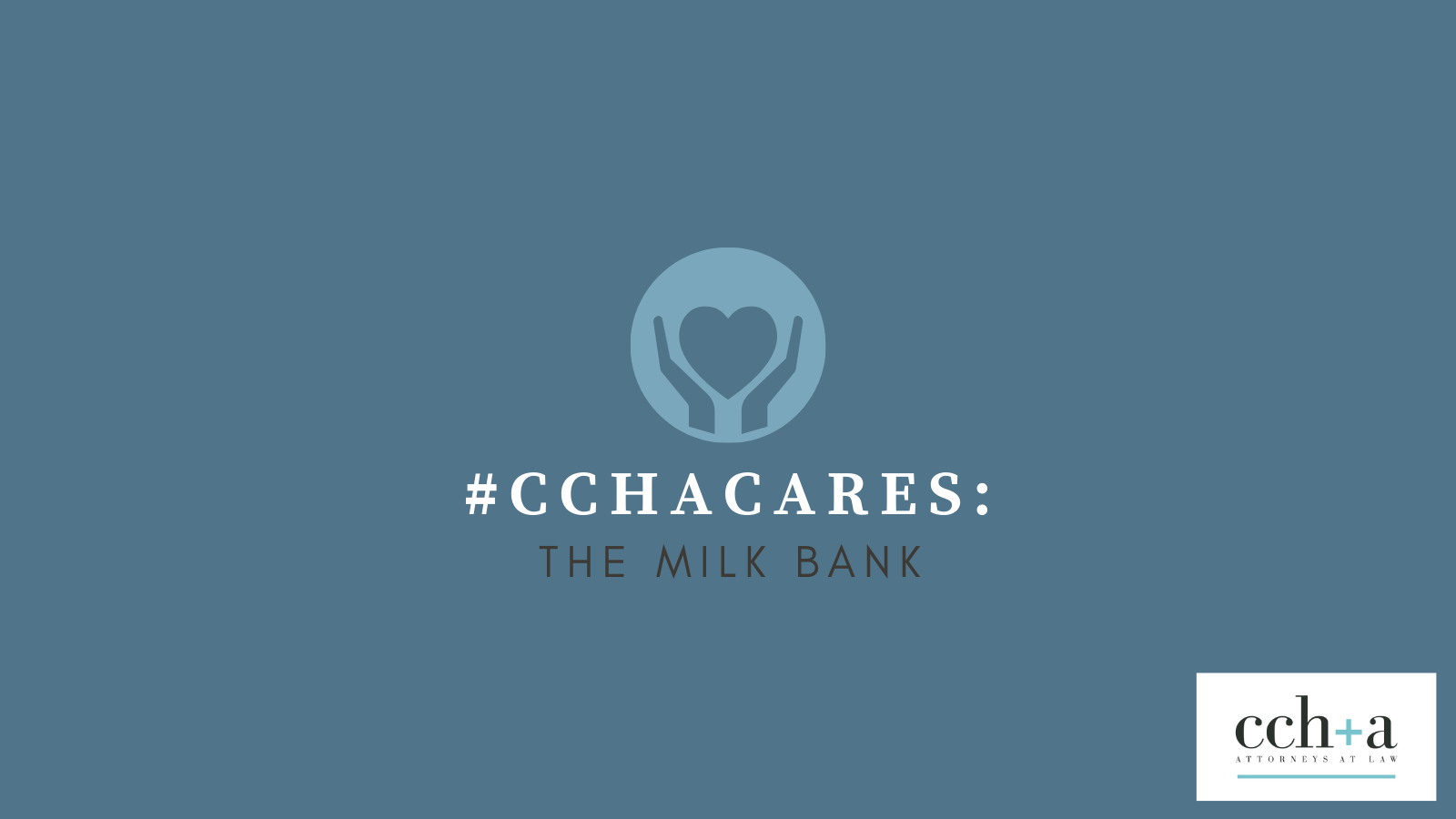 CCHA Cares May 2021 The Milk Bank TWITTER