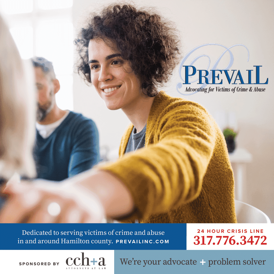 Prevail Inc ad Indianapolis Monthly 1