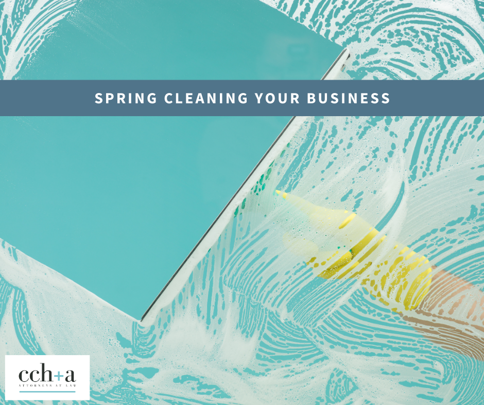 Ccha april 2021 spring cleaning your business fb li