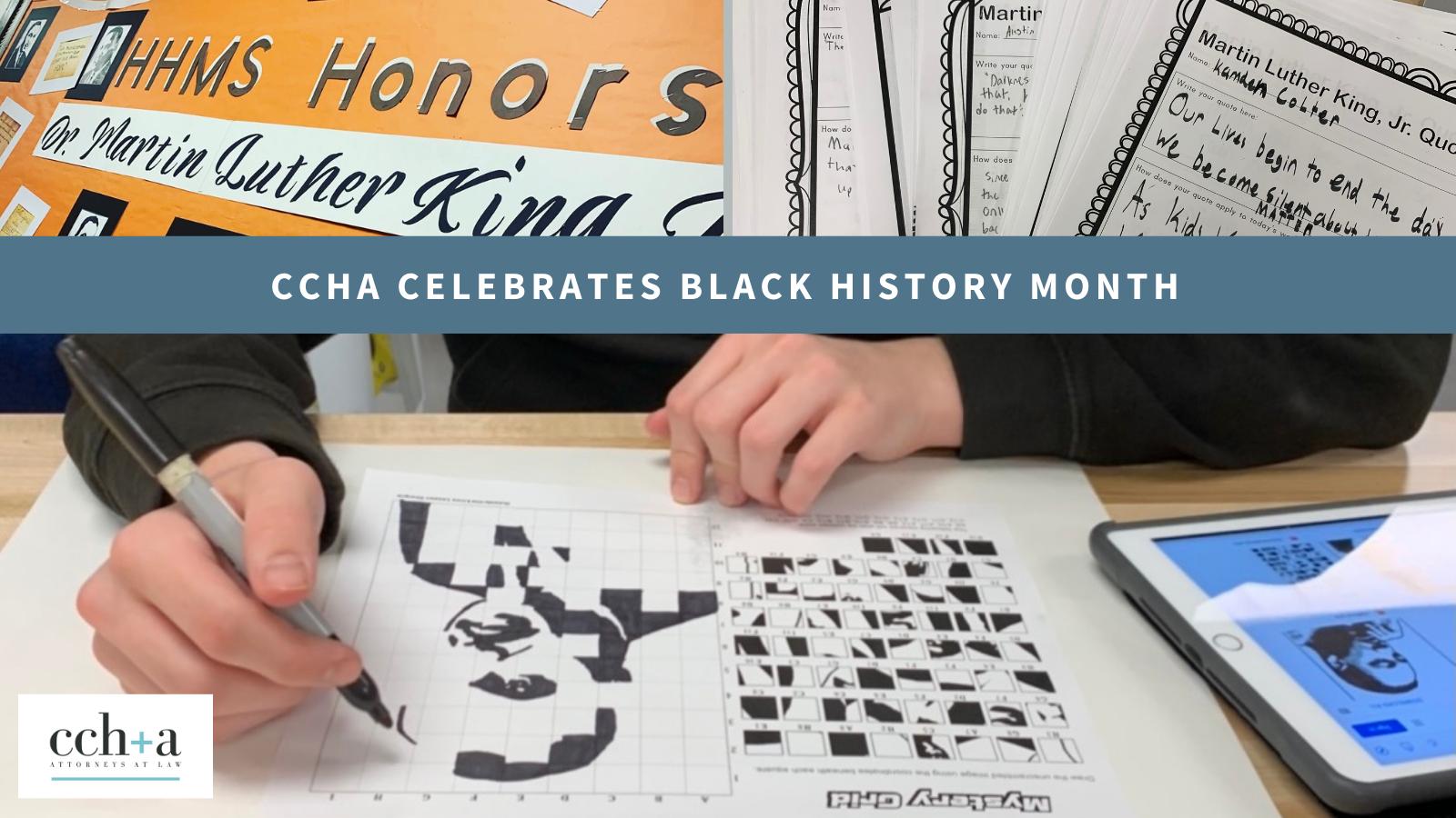 Ccha celebrating black history month 1