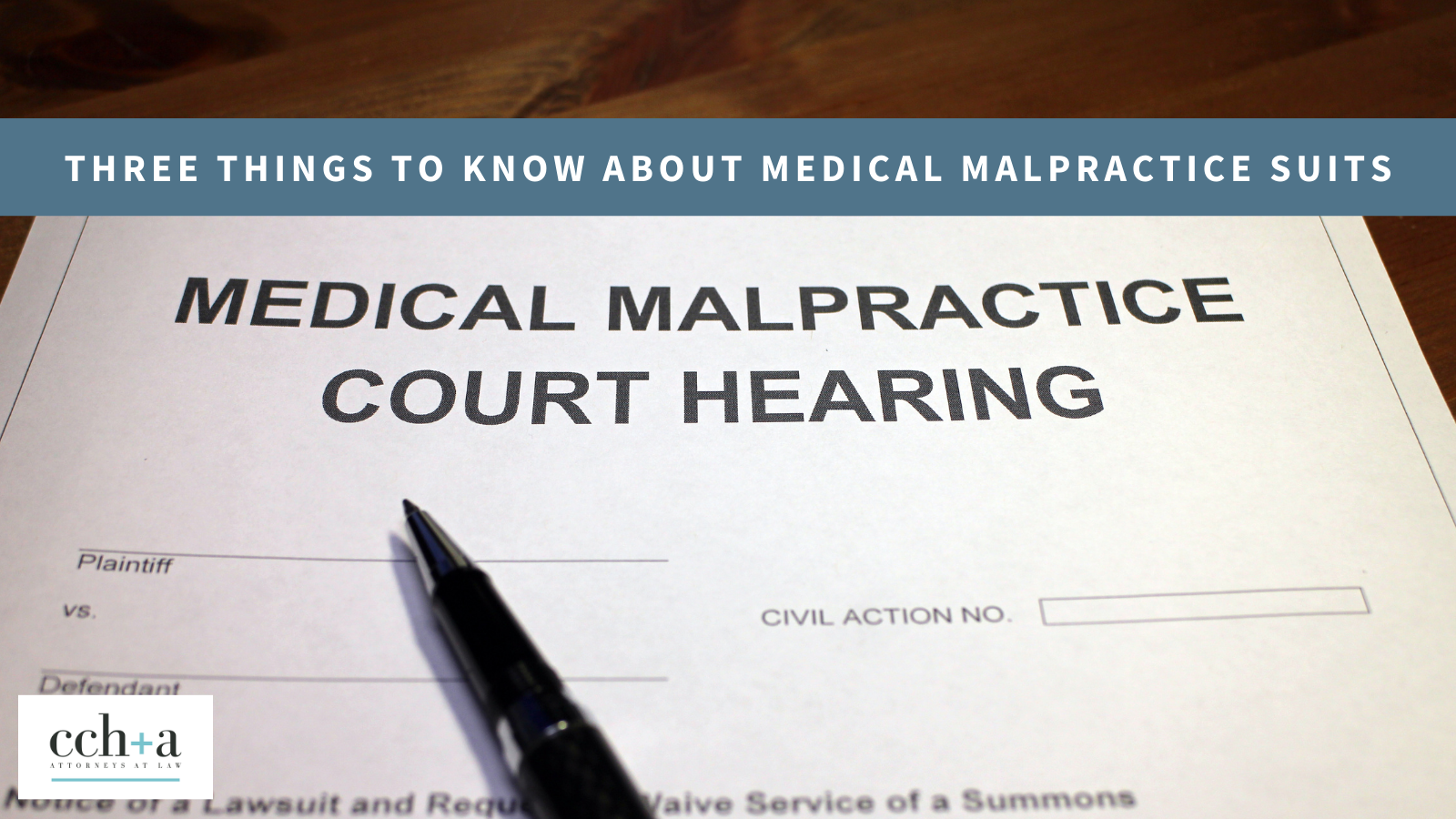 Ccha march 2021 three things to know about medical malpractice suits tw