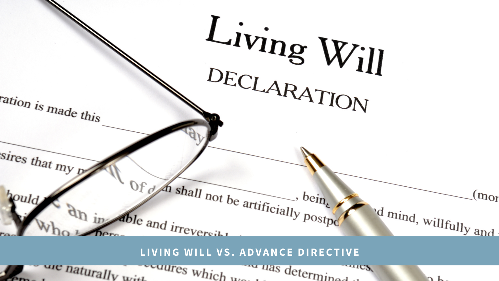 Ccha may 2021 living will vs advance directive