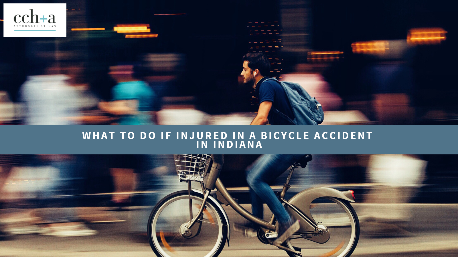 What to do if injured in a bicycle accident in indiana 1